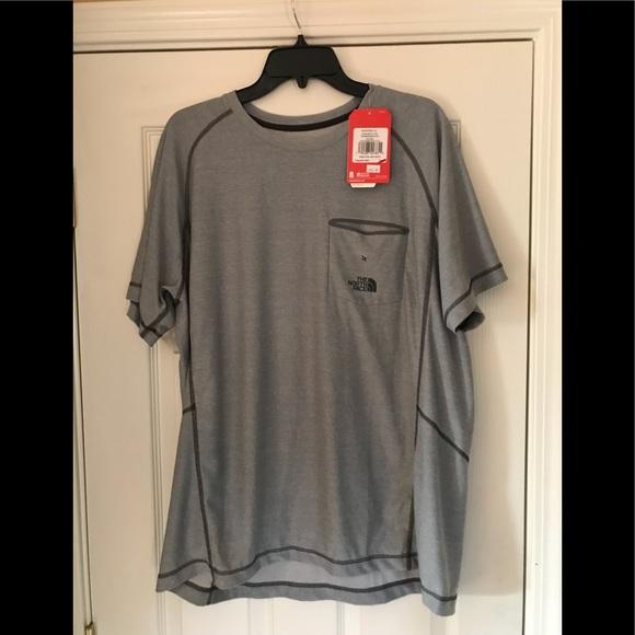 b3f87e4f5 North face dri-fit t shirt. Heather grey. NWT